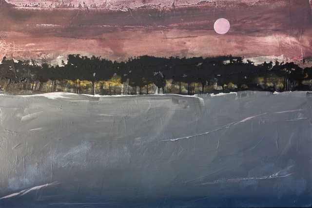 , 'Pink Moon,' 2017, Glade Gallery