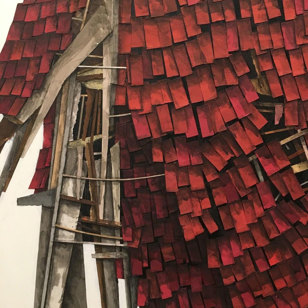 BoxHeart @ Aqua Art Miami, Room 210 featuring Seth Clark, collage