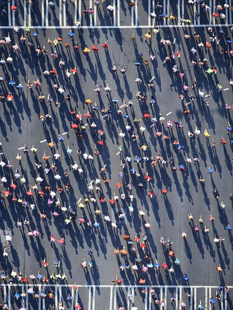, 'People of peach tree road race,' 2018, Mazel Galerie