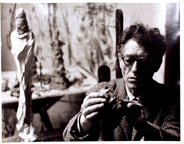 , 'Giacometti Modeling,' 1960, Be-hold