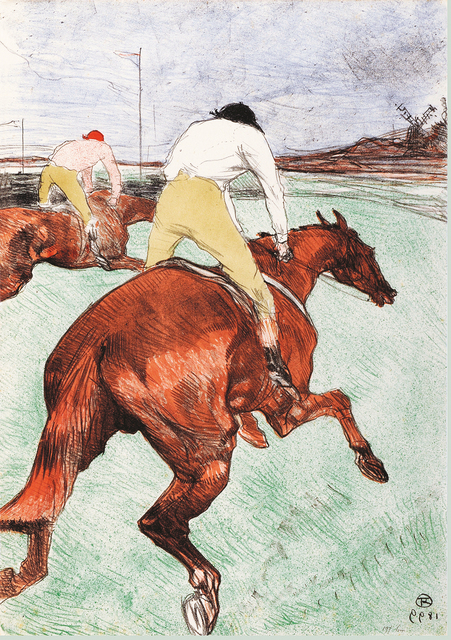 , 'Le Jockey,' 1899, Montreal Museum of Fine Arts