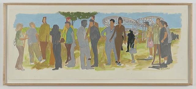 William Leavitt, 'Stock Figures', 2004, The Kitchen
