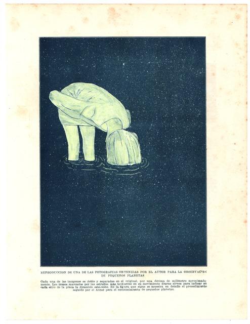 """, ' Entonces el agua experimenta algo así como una pérdida de velocidad #4 (from""""La materia de la desesperación"""" series),' 2015, Galeria Senda"""