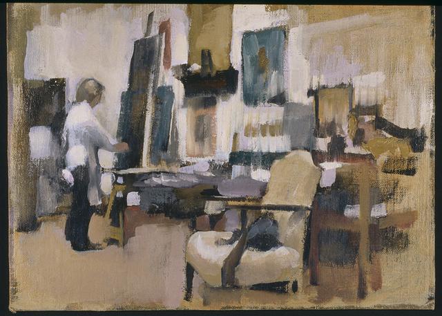 , 'Figure in Studio 1,' 2005, Susan Calloway Fine Arts