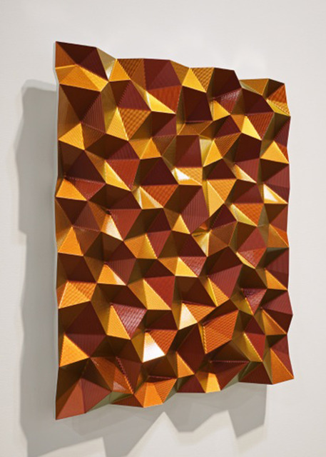 , 'Hexagonal Perturbation (Gold),' 2011, Wilding Cran Gallery