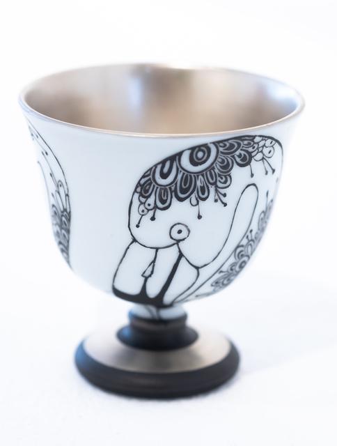 Masako Inoue, 'Cup_Flamingo', 2018, Micheko Galerie