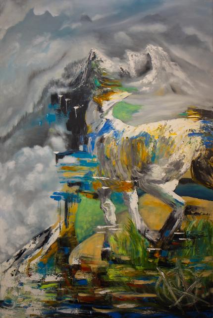 , 'Whitenoise Gl'itch ,' 2018, Lotus Art Gallery