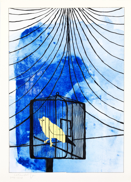 , 'A Canary in a Cage,' 2002-2008, The Mayor Gallery
