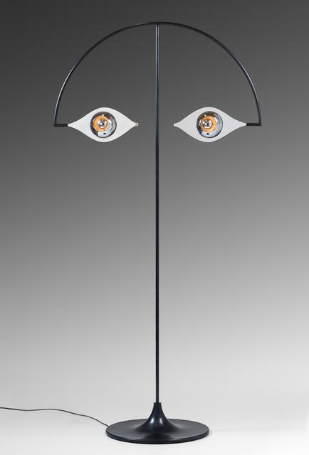 """, '""""Les Yeux sans Visage"""" floor lamp,' 1981, Galerie Chastel-Maréchal"""