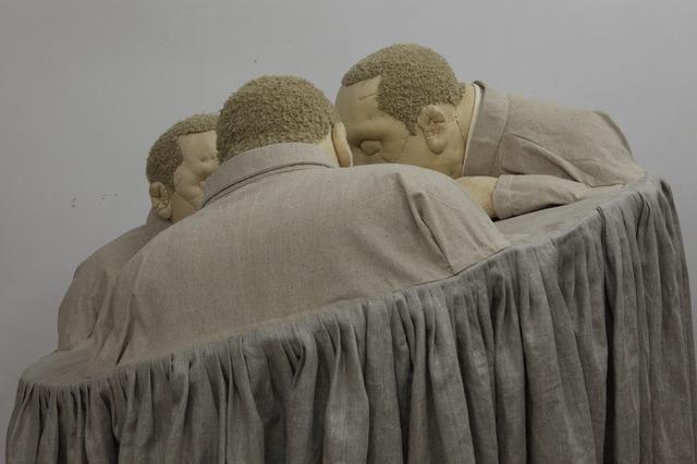 Ji Wenyu & Zhu Weibing, 'Time to Make Plans (现在该拿出方案了)', 2012, ShanghART