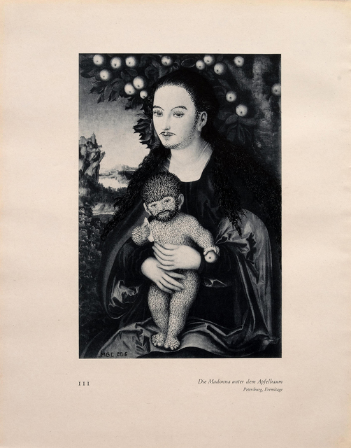 , '111 Die Madonna unter dem Apfelbaum (Love Paintings),' 2016, Casa Triângulo