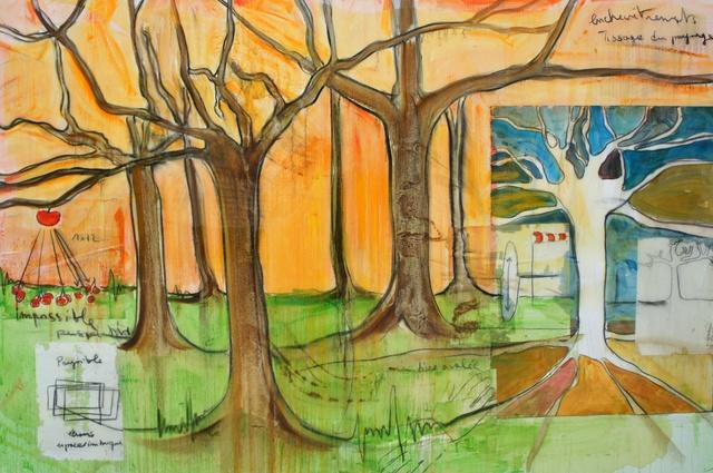 , 'Tisser le Paysage,' 2011, Galerie Ariel Sibony