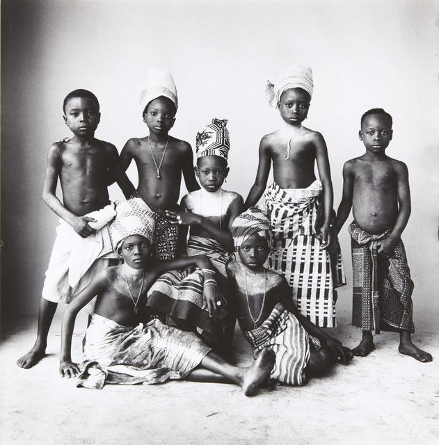 , 'Dahomey Children, Dahomey,' 1967, Bernheimer Fine Art