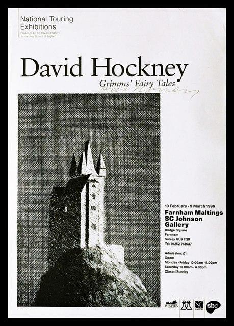 David Hockney, 'Grimms' Fairy Tales (Hand Signed)', 1996, Alpha 137 Gallery