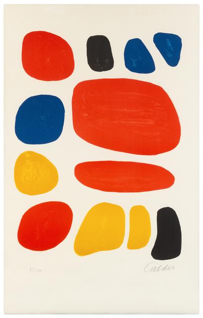 Alexander Calder, 'Homage to Ben Shahn', c. 1970, Hindman