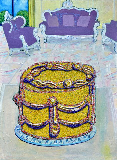 , 'Cake with Interior,' , Sanat Initiative