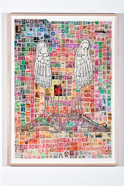 , 'Stamping Feet (Hot),' 1997-2010, Rosamund Felsen Gallery
