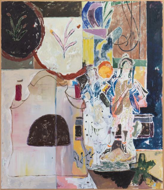 , 'Going to market, returning home (fruit & flute),' 2019, V1 Gallery