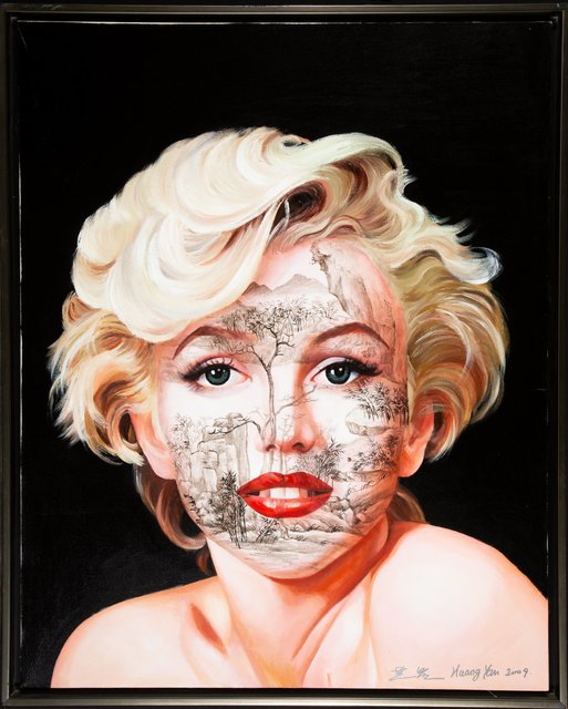Huang Yan, 'Chinese Landscsape-M. Monroe from the Celebrity Series', 2009, Heritage Auctions