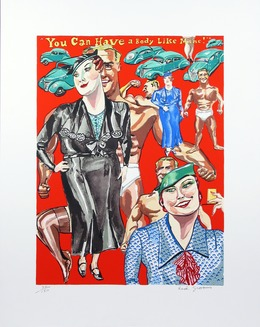 Red Grooms, 'You can have a body like mine', 1978, Sragow Gallery