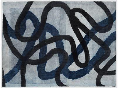 , 'Through lines and screens,' 2009, Galeria Raquel Arnaud