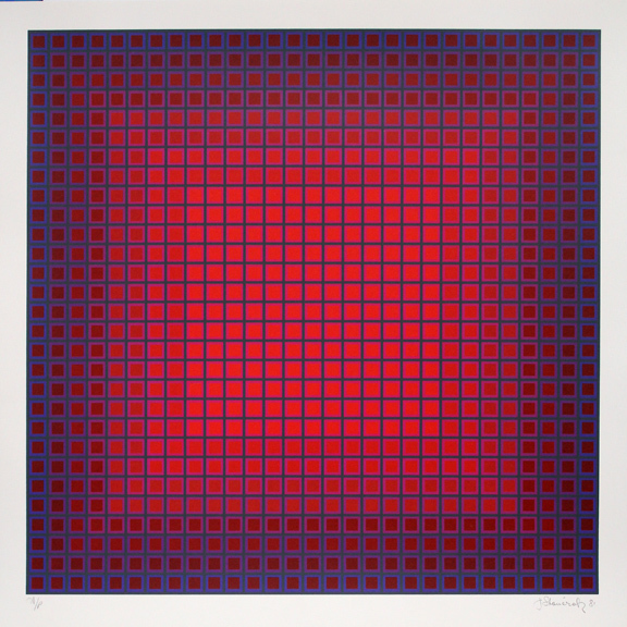 , 'Compounded Red ,' 1981, David Richard Gallery