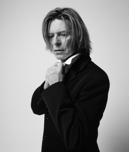 , 'Bowie, In Black Jacket Looking Down, NYC,' 2002, TASCHEN