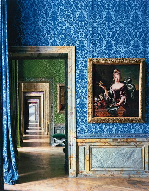 Robert Polidori, 'Anne Louise Bénédicte de Bourbon, Duchesse du Maine, Attributed to Francois de Troy, Salle Les Princesses Royales (86) and ANR.02.004, Salles du XVII, Aile du Nord, 1er Etage, Versailles', 1984, Phillips