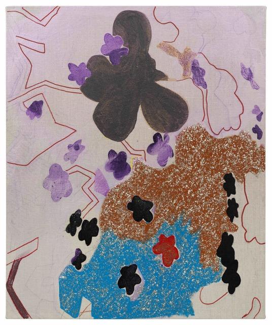 Candida Alvarez, 'Flower Stars in Lavendar', 2019, Gavlak
