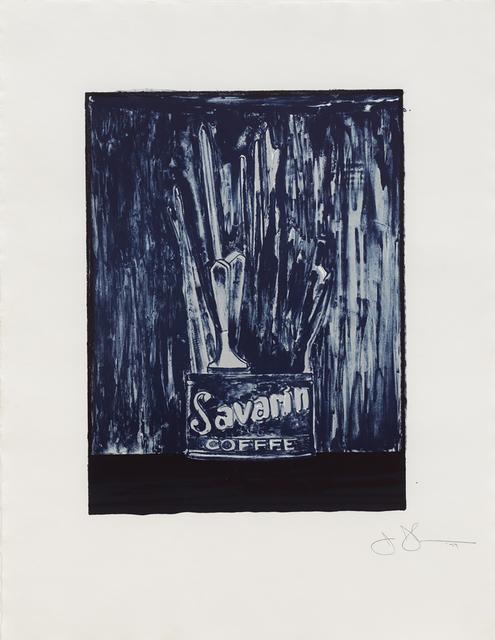 , 'Savarin 6 (blue),' 1979, Susan Sheehan Gallery