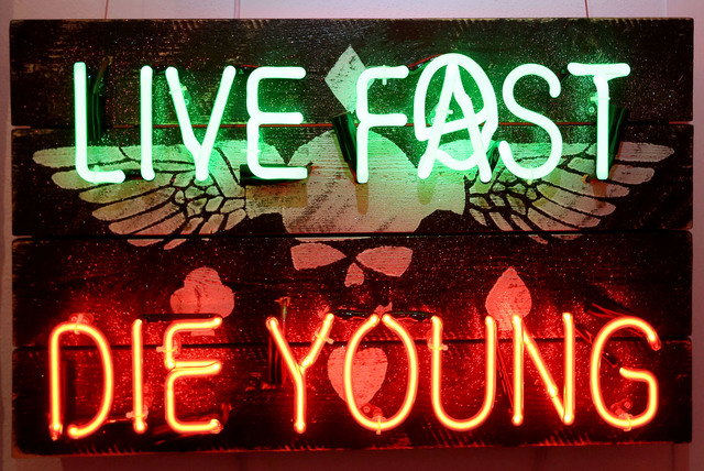 , 'Live Fast Die Young,' , Imitate Modern