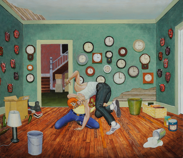 Tim Vermeulen, 'The Realm of Hungry Ghosts', 2014, Painting, Oil on Panel, George Billis Gallery