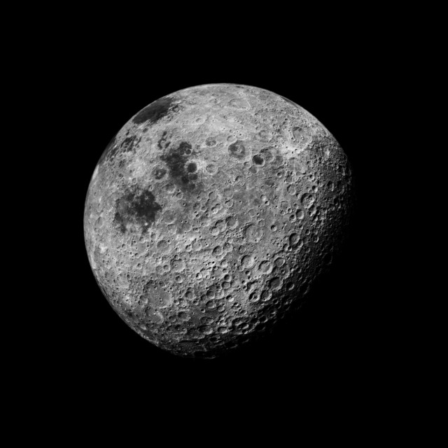 , '109 The Moon Seen From 1000 Miles, Showing Farside Highlands; Photographed by Kenneth Mattingly, Apollo 16, April 16-27, 1972,' 1999, Danziger Gallery