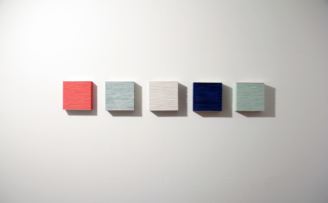 , 'the wall of self_vigginhi5,' 2015, Gallery LVS