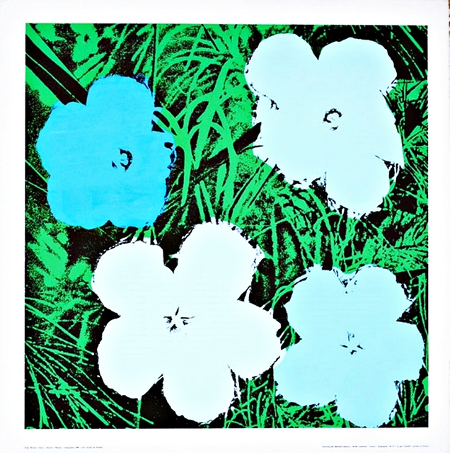 Andy Warhol, 'Blue and White Flowers', 1970, Alpha 137 Gallery