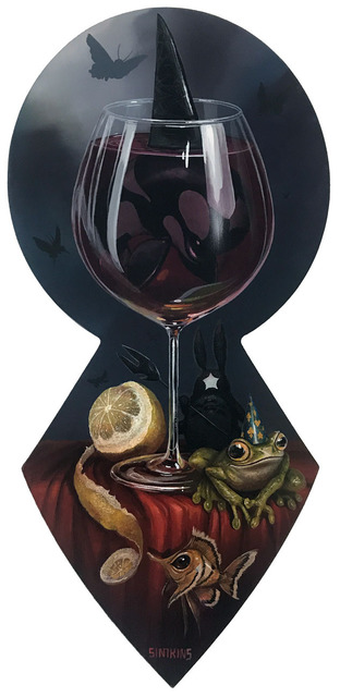 Greg 'Craola' Simkins, 'The Last Glass', 2019, KP Projects