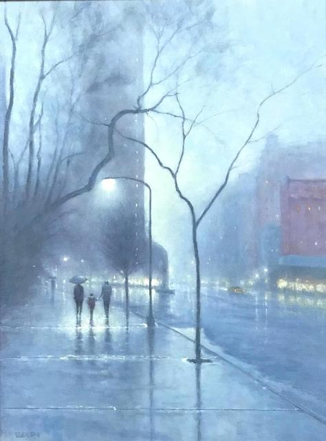 , 'Evening Rain Flatiron,' 2019, The Galleries at Salmagundi