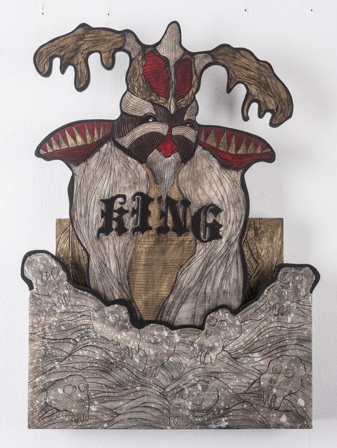 , 'David (King),' 2016, heliumcowboy