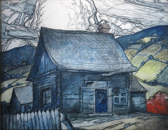, 'La vieille forge ,' ca. 1945, Galerie Claude Lafitte