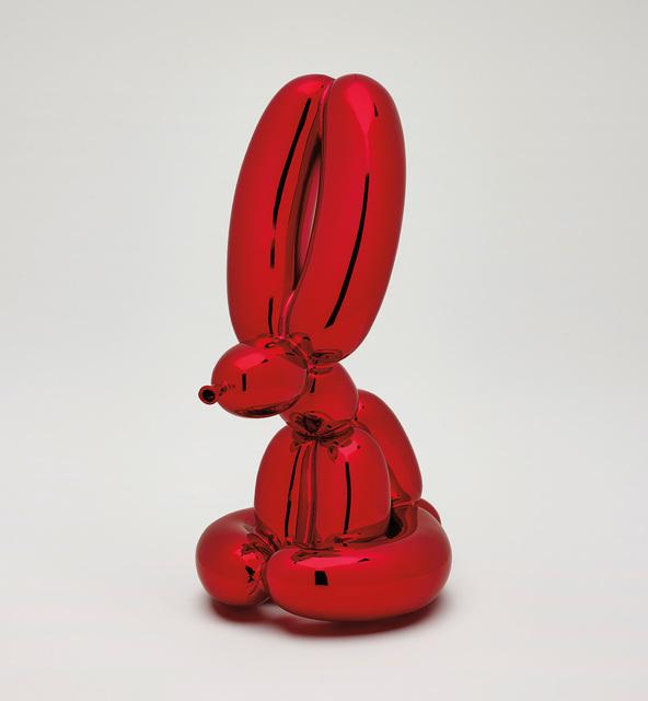 Jeff Koons, 'Balloon Rabbit (Red)', 2017, Phillips