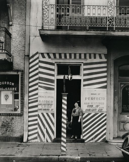 , 'Sidewalk and Shopfront, New Orleans,' 1935, Robert Klein Gallery