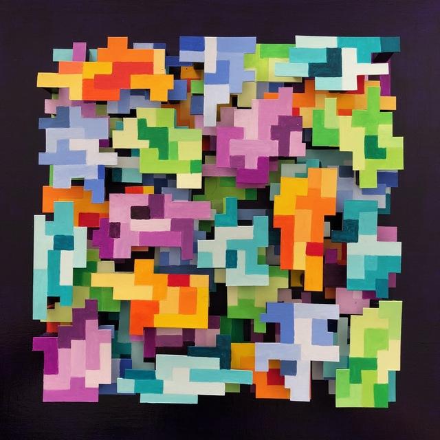 , 'Data Field IV,' 2018, InLiquid
