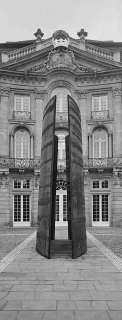 , 'Skulptur Projekte Münster, Richard Serra, Trunk, J. Conrad Schlaun Recomposed,' 1987, Walter Storms Galerie