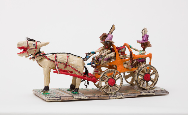 , 'Untitled (WH239 four figures carriage horse purple hats),' , The Good Luck Gallery