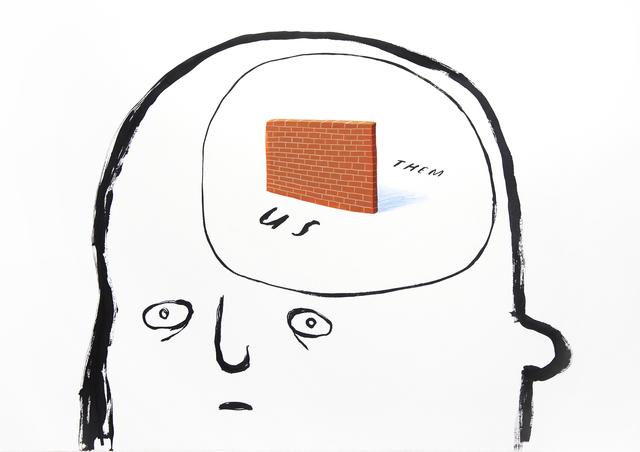 Oliver Jeffers, 'Mental Walls', 2019, Lazinc
