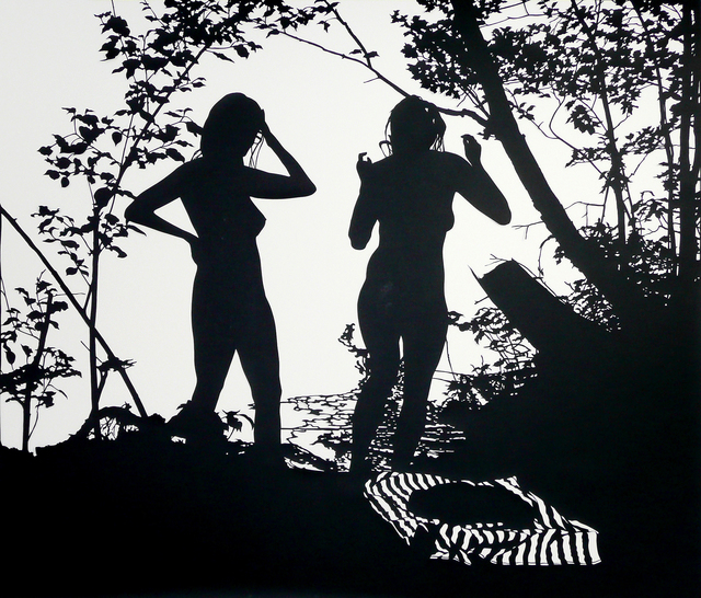 Stefan Thiel, 'Zwei Mädchen', 2011, Mai 36 Galerie