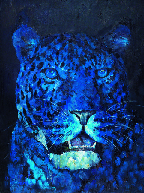 , 'Head of a Leopard,' 2017, Lorenzelli arte