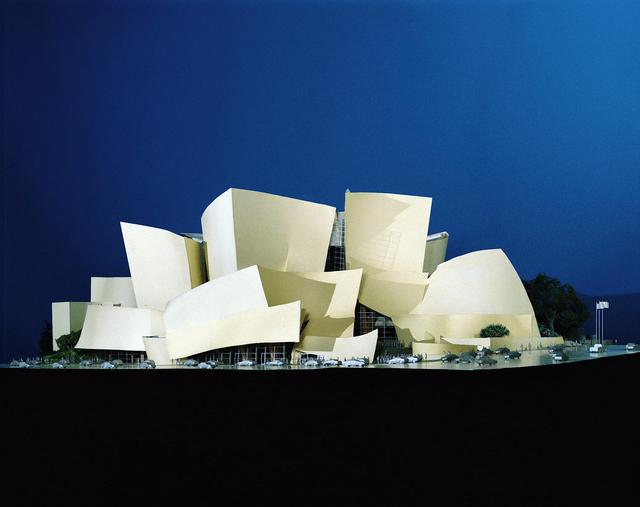 , 'Walt Disney Concert Hall Project Model, Los Angeles, California,' 1989-2003, Los Angeles County Museum of Art