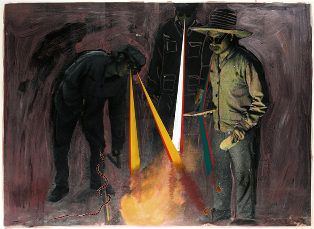 , 'Watching The Fire No.1,' 2017, M97 Gallery