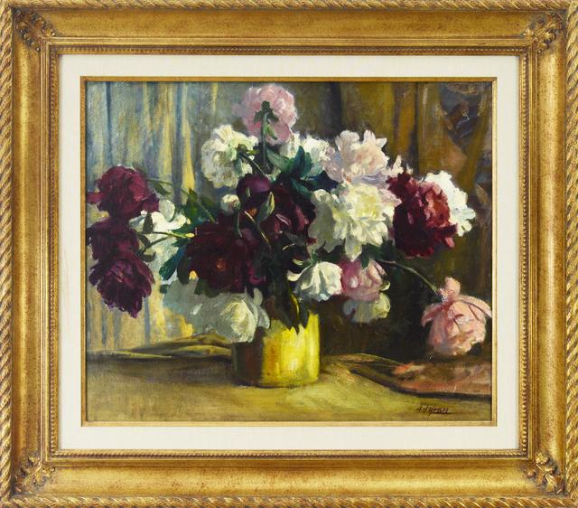 , 'Peonie,' , Eisele Fine Art